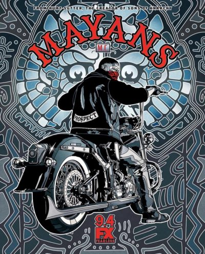 Mayans MC poster 2018 - Click to visit and follow Mayans M.C. on Twitter!