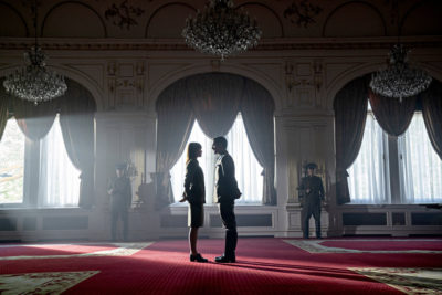 Treadstone S1x02 Young Petra meets with her lover Yuri Leniov