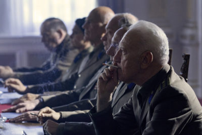 Treadstone S1x01 Russian Directors question Petra