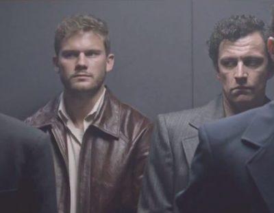 Treadstone S1x02 Bentley fights in the elevator