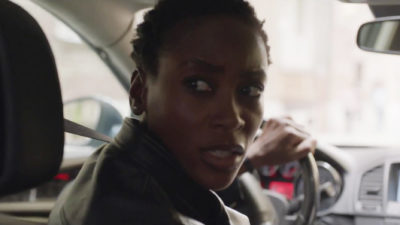 Treadstone S1x02 Tara runs for her life in an exciting car chase