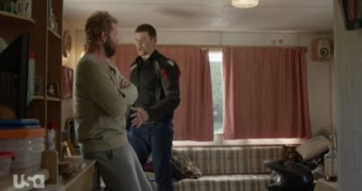 Treadstone S1x06 Doug and Mike reunite before the Special Forces come to kill Doug