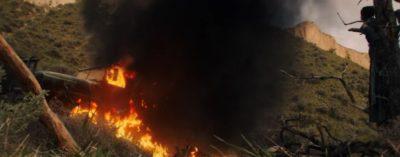 Van Helsing S4x06 Axels truck has been destroyed