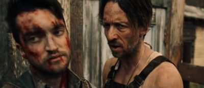 Van Helsing S4x06 Max and his friend Matty eye Jennifer in a trade for blood