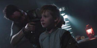 Van Helsing S4x06 Max recovers his gun threatens to shoot Owen