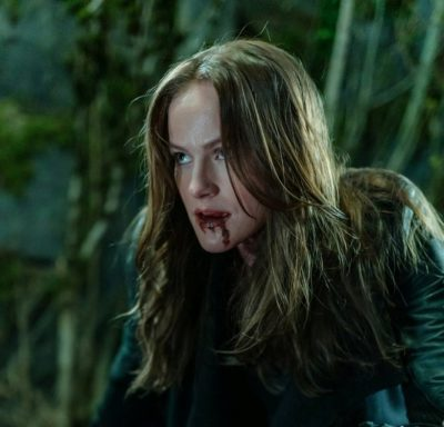 Van Helsing S4x07 Vanessa is wounded in her fight with Sam