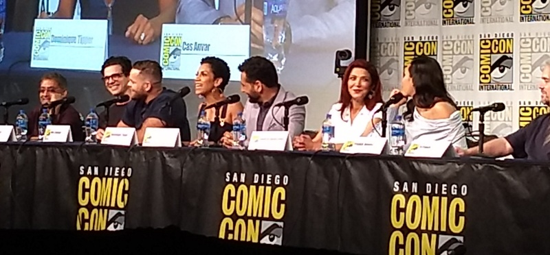 The Expanse Panel San Diego Comic-Con 2019 With Cas Anvar Interview!