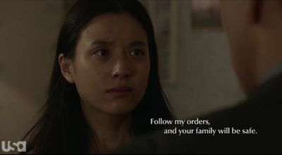 Treadstone S1x06 Soyun is ordered to follow instructions