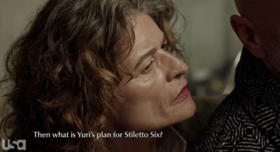 Treadstone S1x07 Old Petra wants answers
