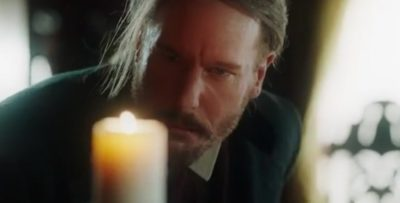 Van Helsing S4x07 The light of hope returns to Abraham after Vanessa threw herself and Dracula into the portal of hell