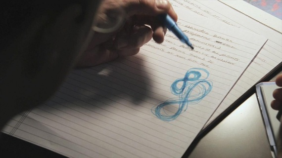 ...while Will finds himself doodling the same mysterious pattern...