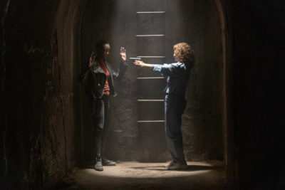Treadstone S1x09 Tara meets old Petra on her own terms!