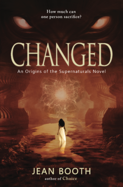 Author Jean Booth's Origins of the Supernaturals: Changed (Book 2)