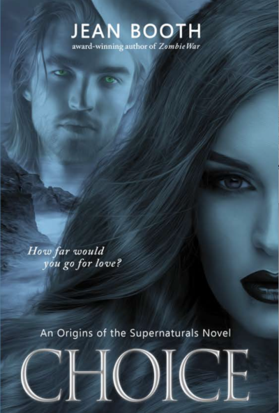 Author Jean Booth's Origins of the Supernaturals: Choice (Book 1)