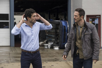 Debris S1x02 Eric tells Bryan there are things he must take care of