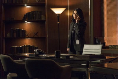 Debris S1x05 Finola calls Priya again to get some answers