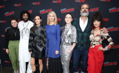 Snowpiercer Cast New York Comic Con image courtesy Getty images