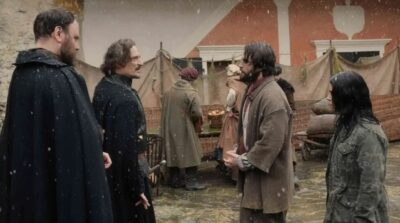 Van Helsing S5x01 Jack meets Count Dalibor and Captain Rasko with Florian