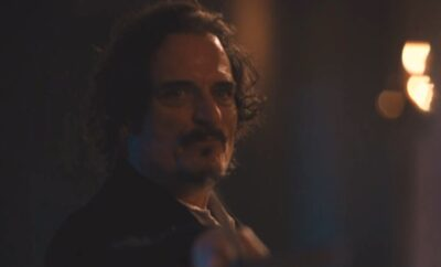 Van Helsing S5x02 Count Dalibor tries to confront Michaela