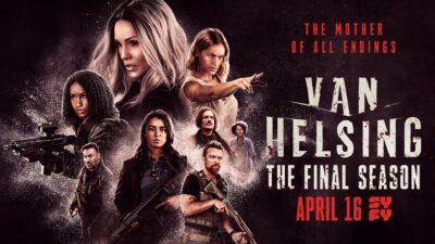 Van Helsing season five poster 2021
