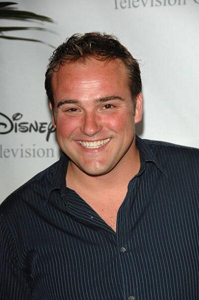 David DeLuise at Disney event 2008
