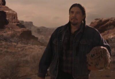 Debris S1x11 Dahkeya Nakai portrayed by Julian Black Antelope in Sedona Arizona