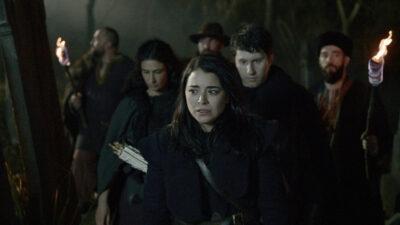 Van Helsing S5x03 Jack and Bathory plan their assualt on Dracula