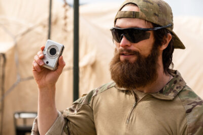 Debris S1x11 Bryan finds the camera with Taliban locations