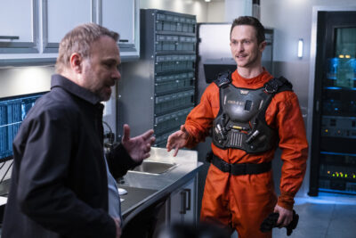 Debris S1x12 Bryan and Maddox discuss the new Debris incident at Orbital
