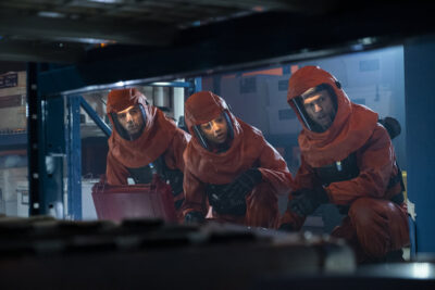 Debris S1x12 The Orbital team check the Debris to ascertain what is happening