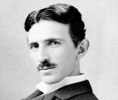 Click to learn about Nikola Tesla