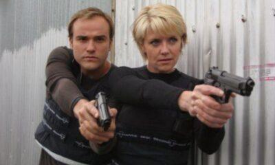 Stargate SG-1 David DeLuise and Amanda Tapping - Crop