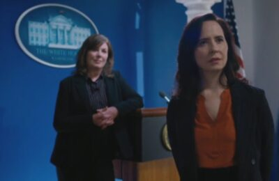 Van Helsing S5x04 President Archer and Avery at the White House