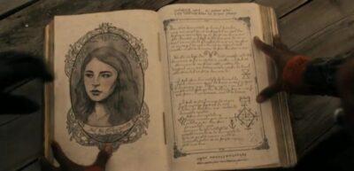 Van Helsing S5x05 Jack is in the Van Helsing book