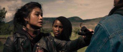 Van Helsing S5x05 Mira tells Violet and Ivory about her nightmare in the Sisterhood