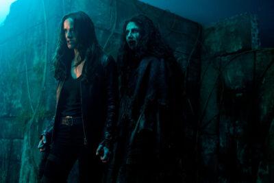 Van Helsing S3x12 Vanessa with Bathory at the Birth Ritual of Dracula
