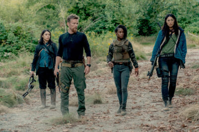 Van Helsing S5x07 Jack, Axel, Violet and Ivory survive and mourn Julius