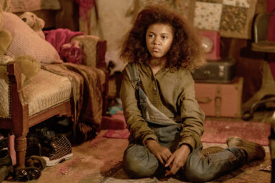 Van Helsing S5x08 Avionne Dean as Emmett the Caveman vampires daughter