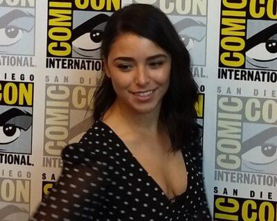 Nicole Muñoz interview at Van Helsing Press Room in 2019 at SDCC