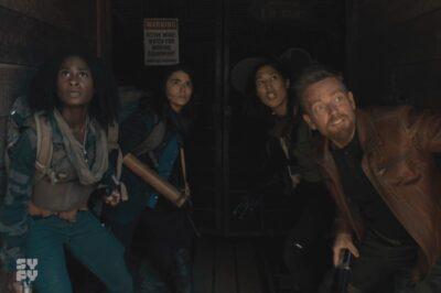 Van Helsing S5x08 Our heroes seek shelter in an abandoned mine