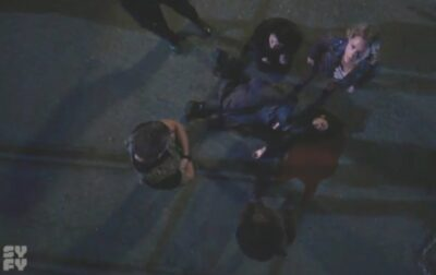 Van Helsing S5x13 Our heroes mourn the death of Bathory