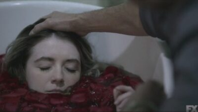 Mayans MC S3x10 Galindo tries to kill Emily but loses his nerve