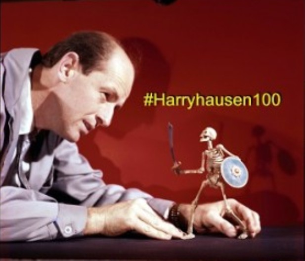 Comic-Con at Home 2021: Remembering Ray Harryhausen Titan of Science Fiction, Fantasy and Visual Effects!