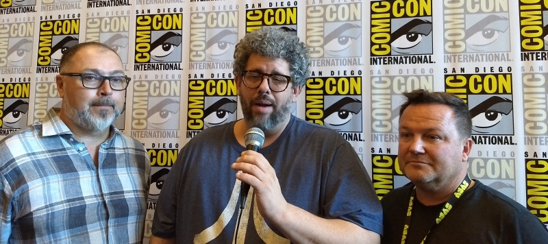 Van Helsing SDCC: Neil LaBute, Mike Frislev and Chad Oakes at Comic-Con, a Superb Series Worthy of Renewal!