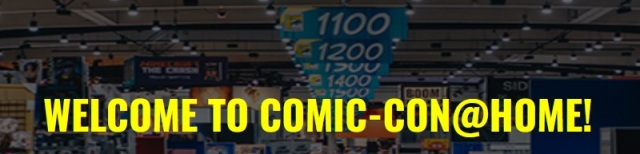 San Diego Comic-Con at Home Banner 2021