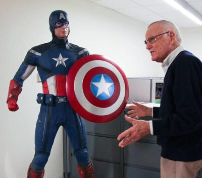 Stan Lee at Marvel Studios