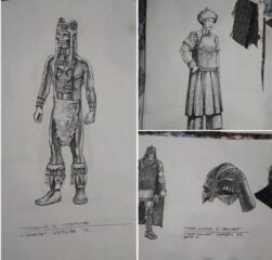 Stargate Drawings for Costumes
