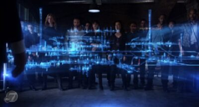 Agents of SHIELD S2x07 - The team sees The Writing on the Wall