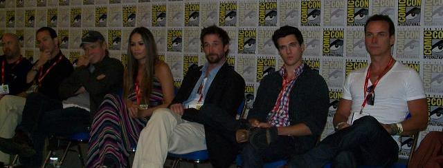 Falling Skies San Diego Comic-Con Press Room and Panel: Noah Wyle, Moon Bloodgood, Will Patton, Drew Roy, Colin Cunningham and Sarah Sanquin Carter!