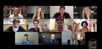 Heels Cast-SDCC @ Home-STARZ panel